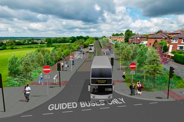 Manchester busway
