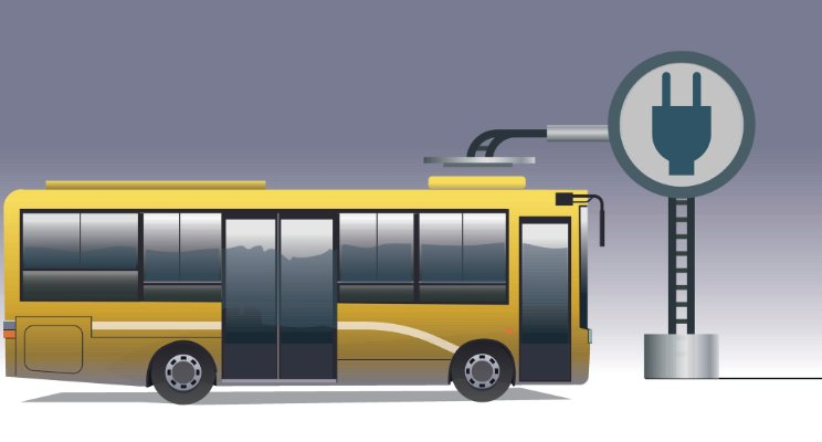 Ellectric bus